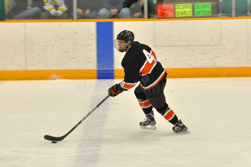 gemowy hokeja lodu ncaa gracz Princeton obraz royalty free