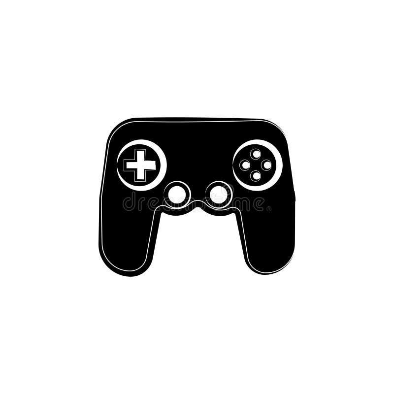 Gemowy konsoli ikony symbol ilustracja wektor