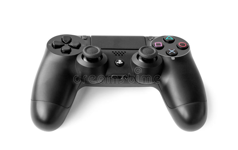 Gemowy ochraniacz dla konsoli Sony PlayStation 4 zdjęcie royalty free