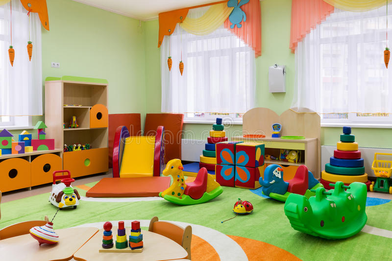 Gemowy pokój w dziecinu fotografia royalty free