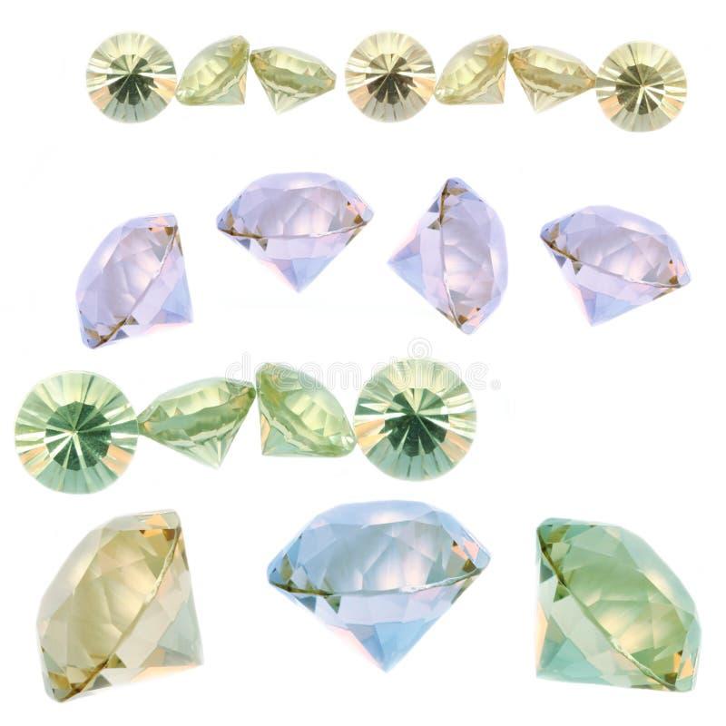 Gems royalty free stock photos