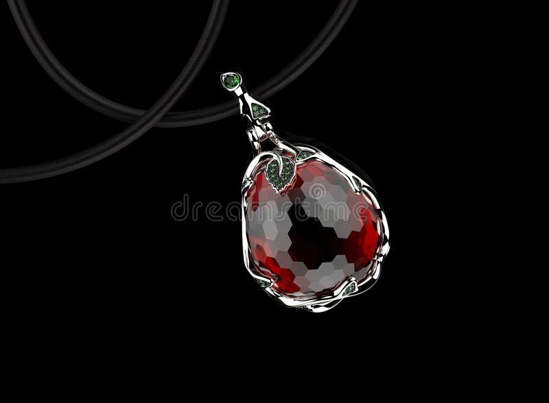 gemstone Coleções de gemas da jóia fotografia de stock