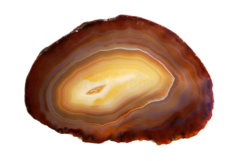 Gemstone cornelian agate close up stock photos