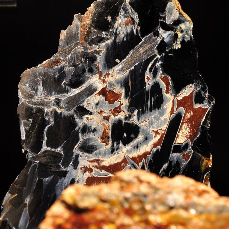 Gemstone de Pietersite, Namíbia fotos de stock