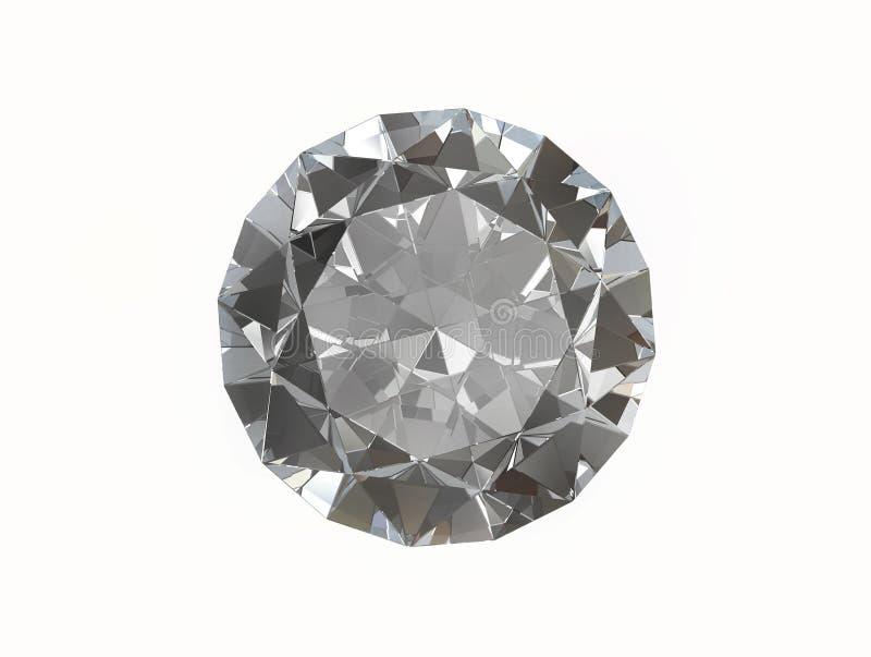 Gemstone do diamante ilustração stock