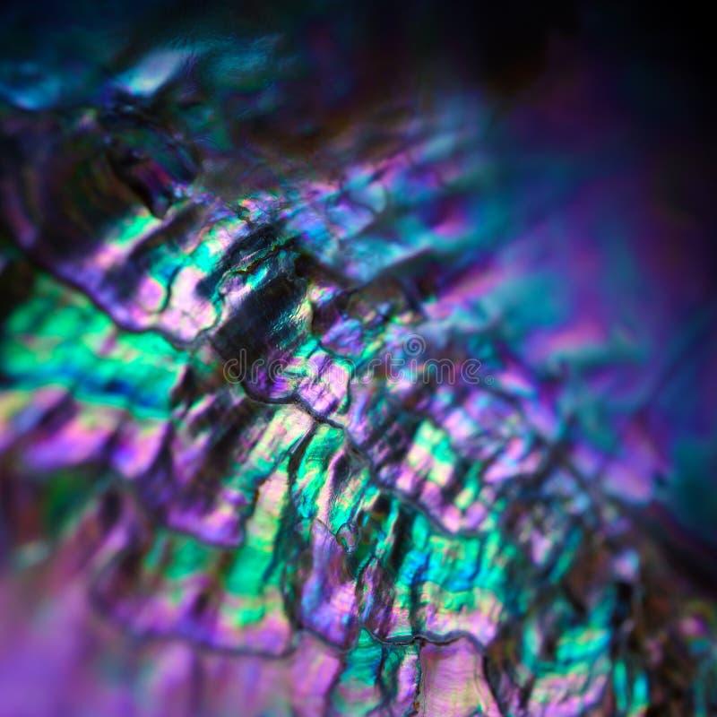 Gemstone nacre tekstury zakończenie up zdjęcie stock
