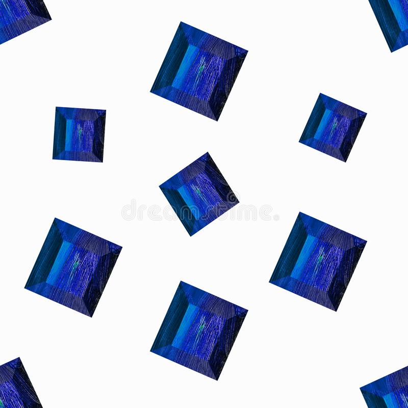 18 Blue Gems Stock Illustration. Illustration
