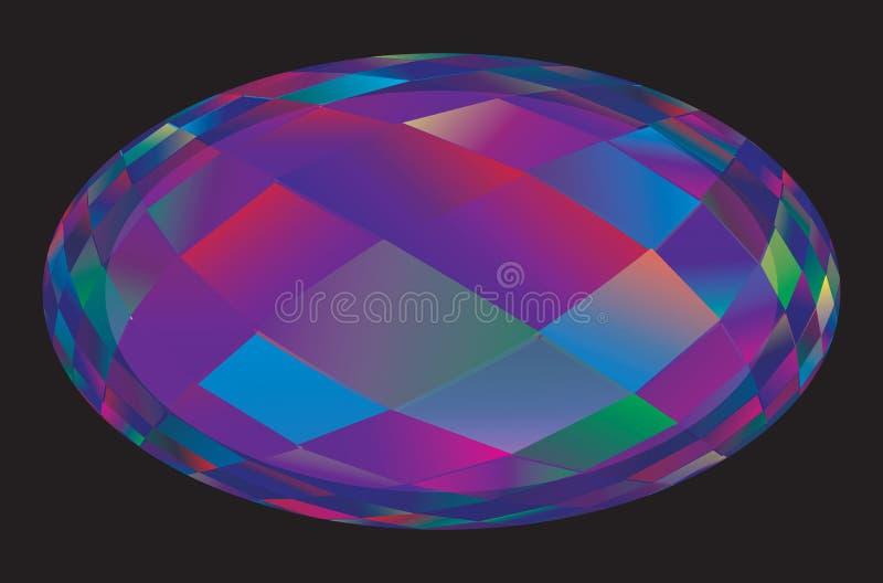 Gemstone Sfondo colorato geometrico astratto royalty illustrazione gratis