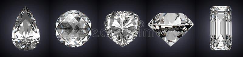 gemstones иллюстрация вектора