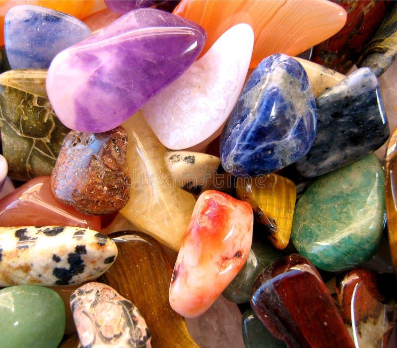 Gemstones Semi preciosos foto de stock royalty free