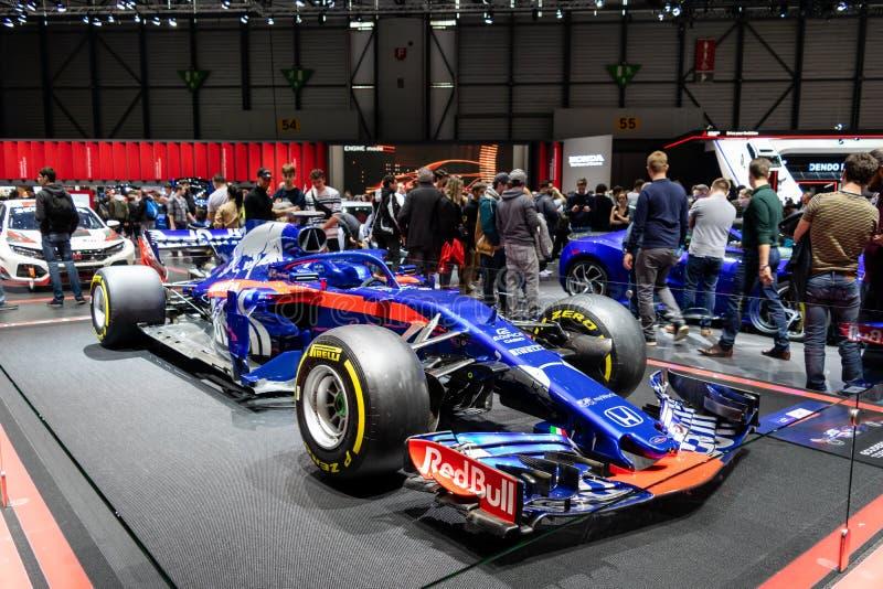 Genève, Suisse, le 9 mars 2019 - Salon de l'Automobile international photo libre de droits