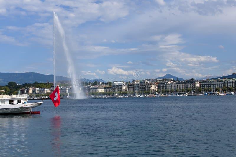 Genève ziet eruit stock afbeelding