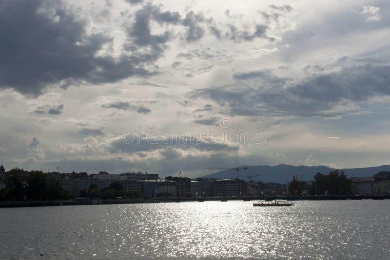 Genève ziet eruit stock fotografie
