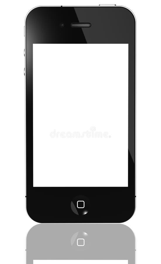 Gen de IPhone ô isolado ilustração royalty free