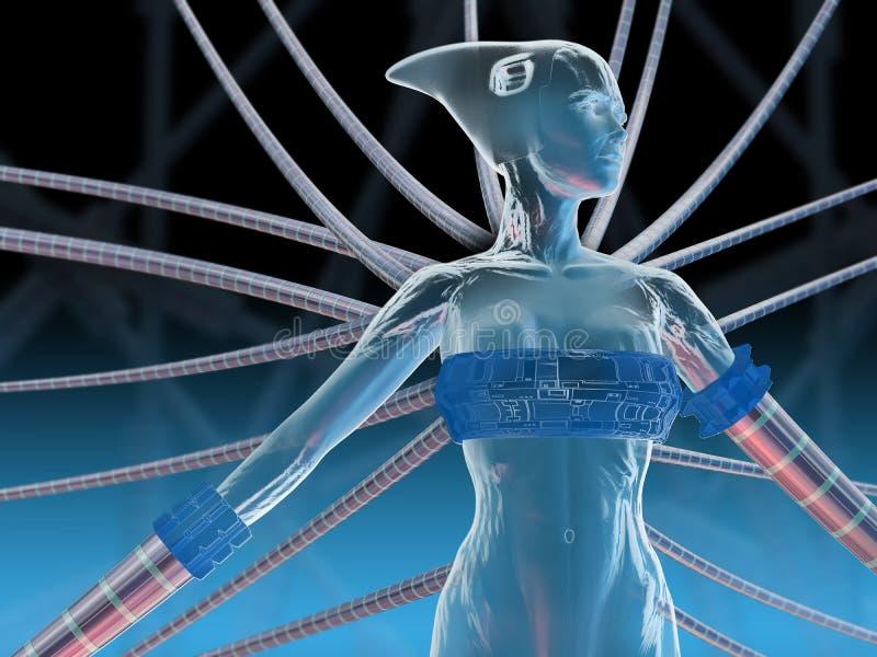 GEN de la tecnología ilustración del vector