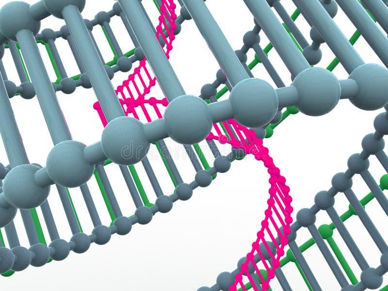 Gen in DNA. vector illustratie