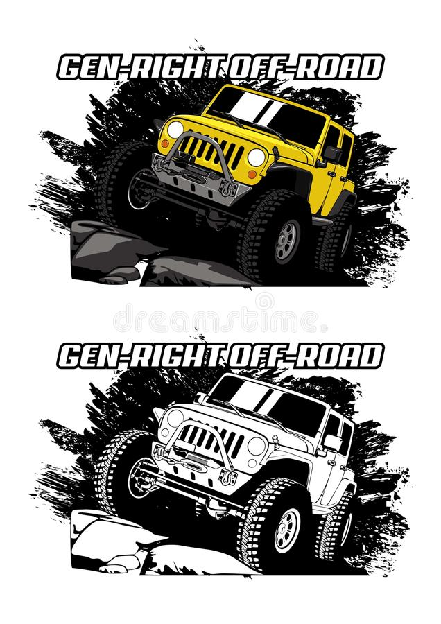 Free Gen-Right Offroad Royalty Free Stock Photography - 76878617
