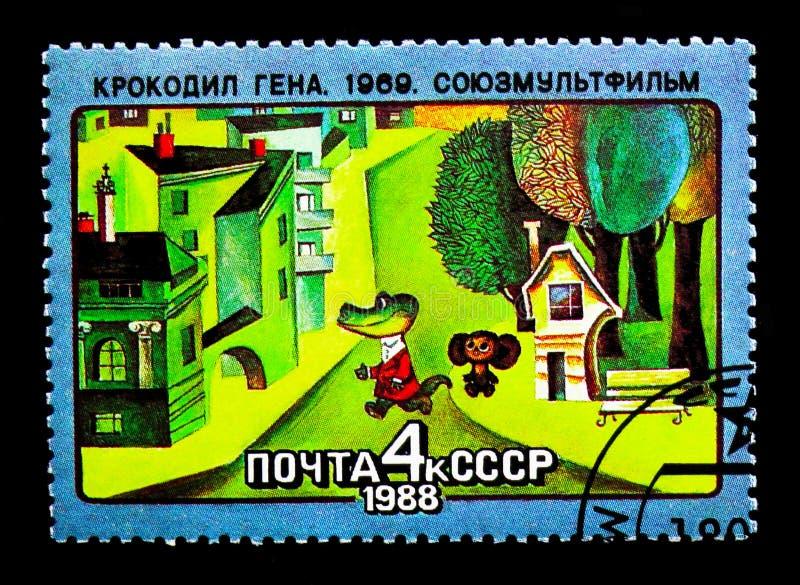 Gena Do Crocodilo Serie Soviético Dos Filmes De Desenhos