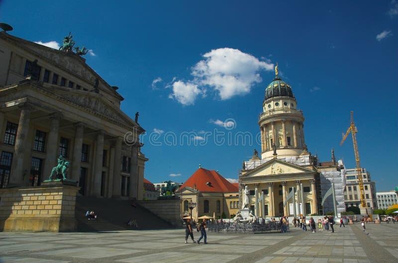 Gendarmenmarkt. The gendarmenmarkt a popular tourist destination in Berlin royalty free stock images