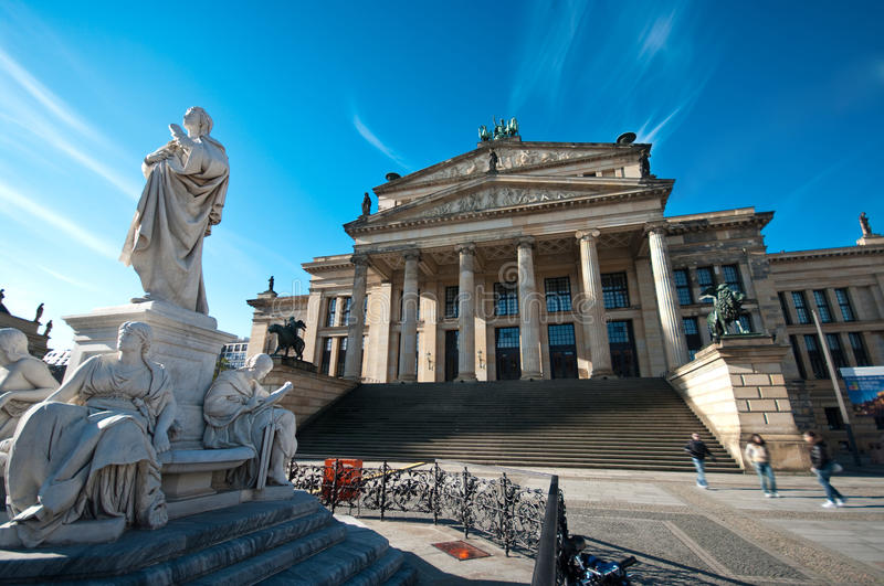 Gendarmenmarkt in Berlin royalty free stock photography