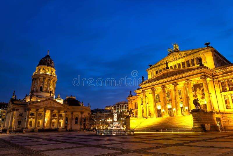 Gendarmenmarkt en Berlín fotos de archivo
