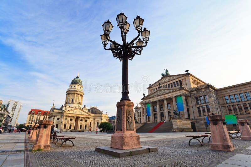 Gendarmenmarkt - Berlin. Gendarmenmarkt square, Berlin City, Germany royalty free stock photo