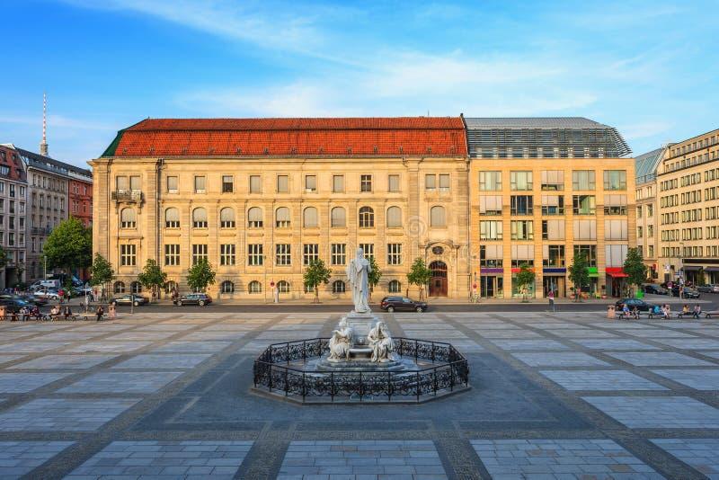 Gendarmenmarkt - Berlin - Germany. Gendarmenmarkt Square of Berlin, Germany royalty free stock image