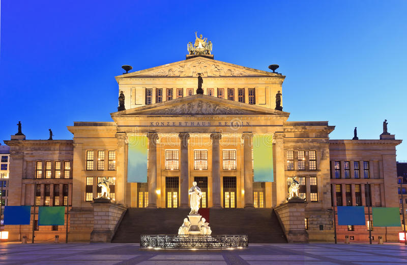 Gendarmenmarkt - Berlin. Gendarmenmarkt square, center of Berlin, Germany royalty free stock images