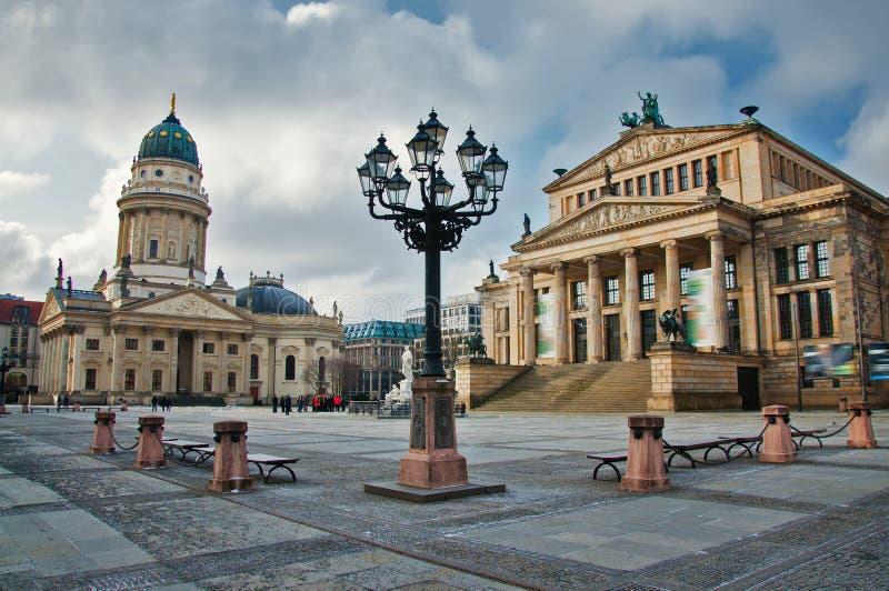 Gendarmenmarkt square. At day in Berlin stock photos