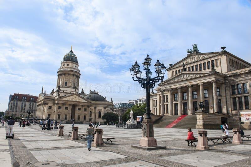 Berlin Gendarmenmarkt royaltyfri foto