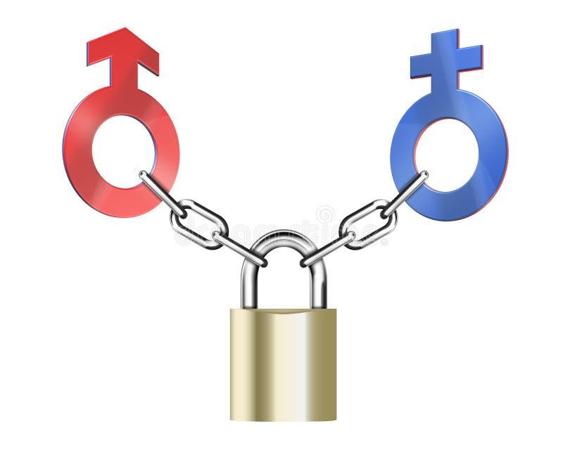 Download Gender connection stock illustration. Image of male, female - 12844025