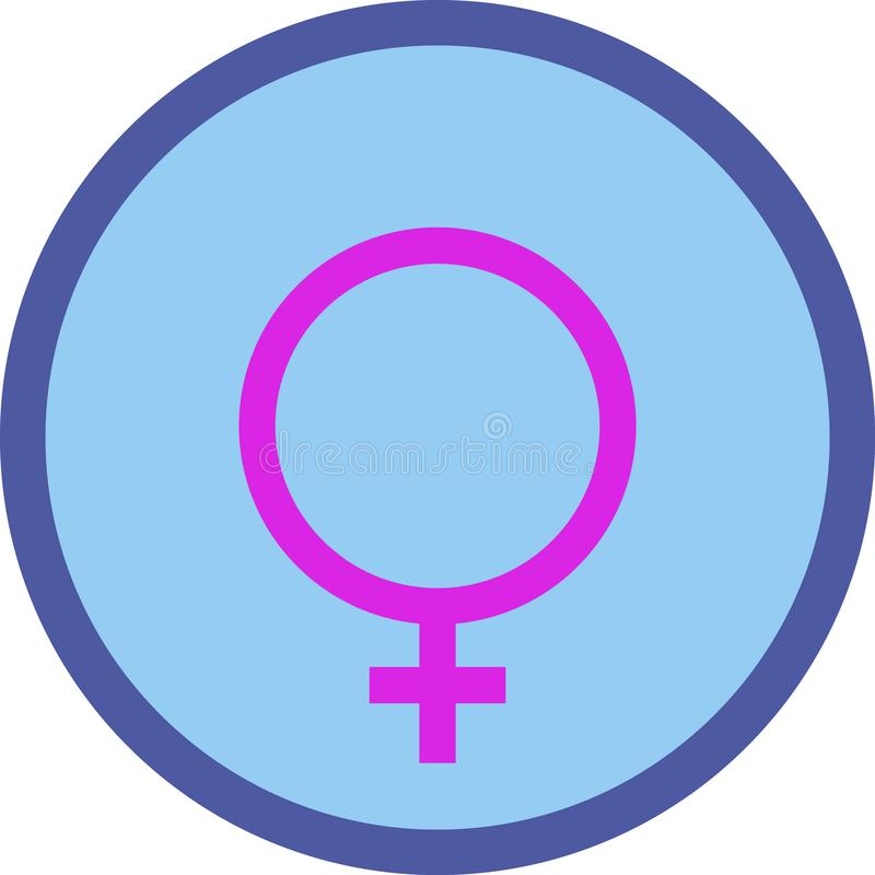Gender eqgender equity symbol, iconuity symbol, icon stock photo