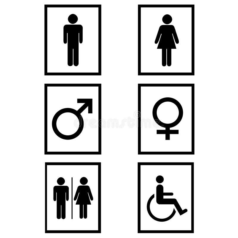 Gender signs vector illustration