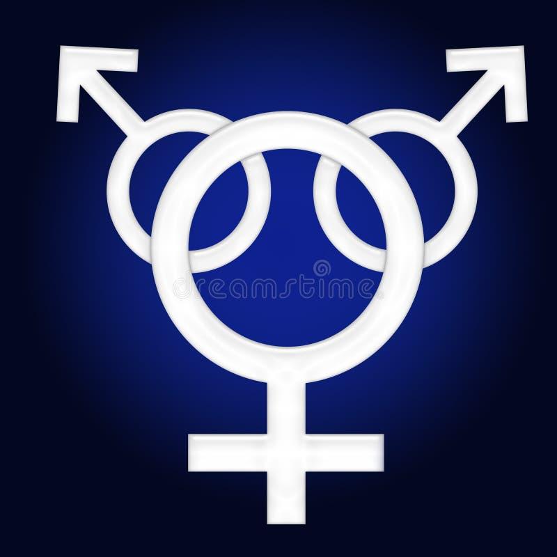 Gender symbol stock photo