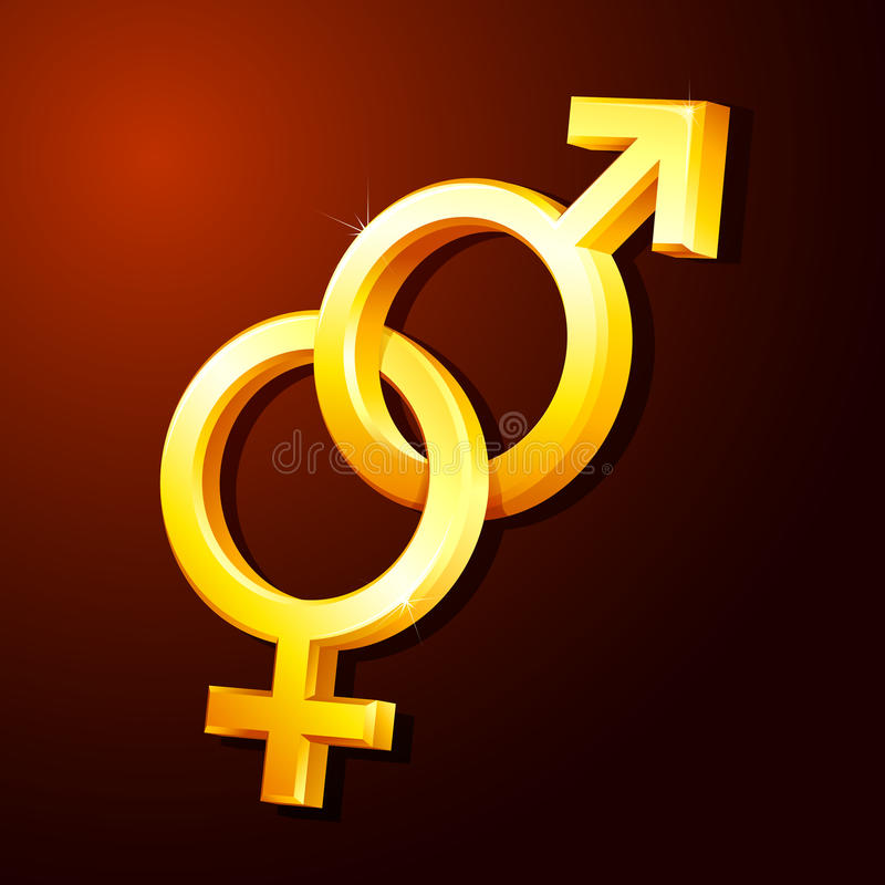 Gender Symbol Stock Photos