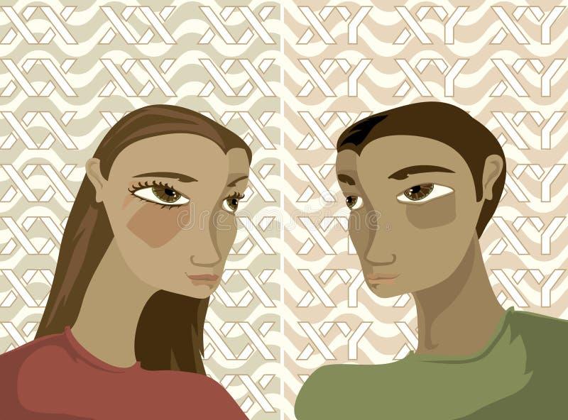 gene, ilustracji