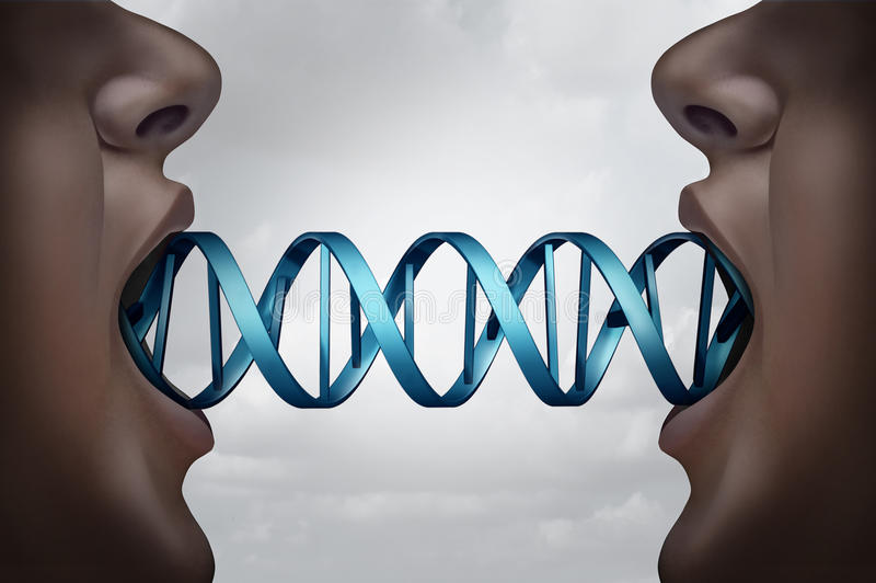 Gene Cloning illustration de vecteur