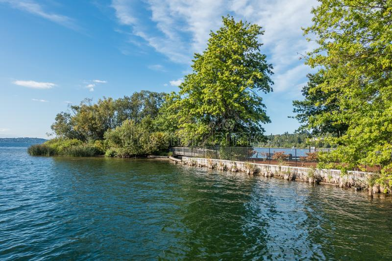 Gene Coulon Park Island royalty free stock images