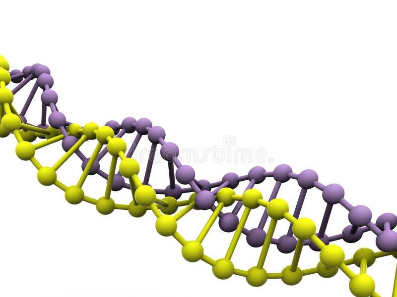 gene dna royalty ilustracja