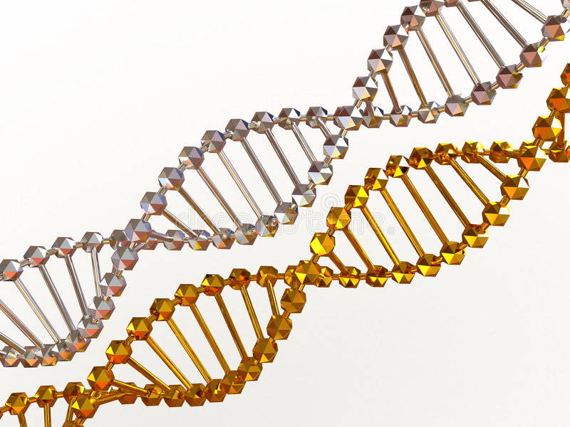 Download Gene in DNA stock illustration. Image of medicine, abstract - 6200362