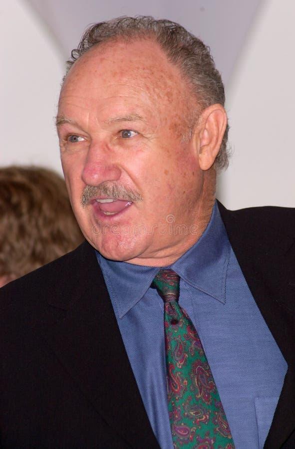 Gene Hackman imagen de archivo libre de regalías