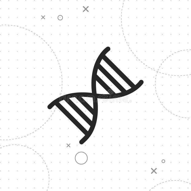 Gene Icon illustration stock
