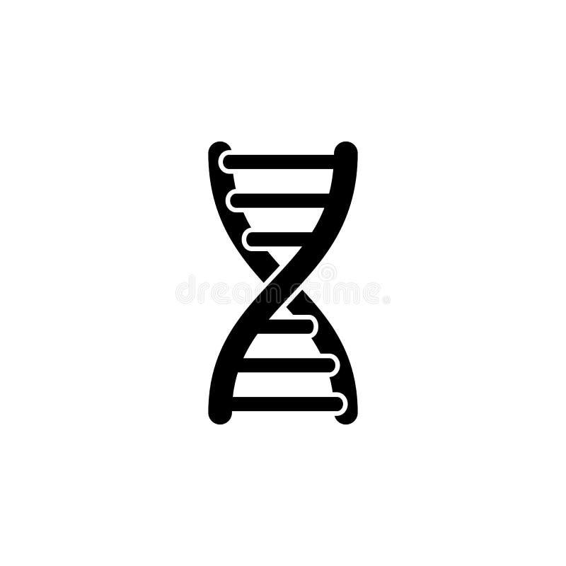 Gene Icon Element der Körperteilikone Erstklassige Qualitätsgrafikdesignikone Zeichen und Symbolsammlungsikone für Website, Netzd stock abbildung