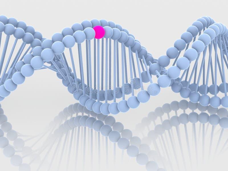 Gene no ADN ilustração royalty free