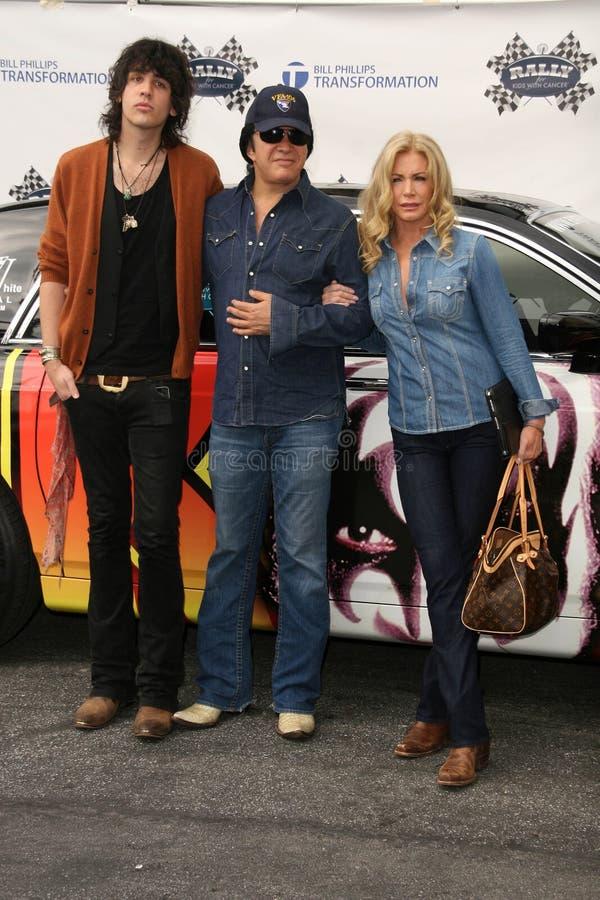 Gene Simmons,Nick Simmons,Shannon Tweed