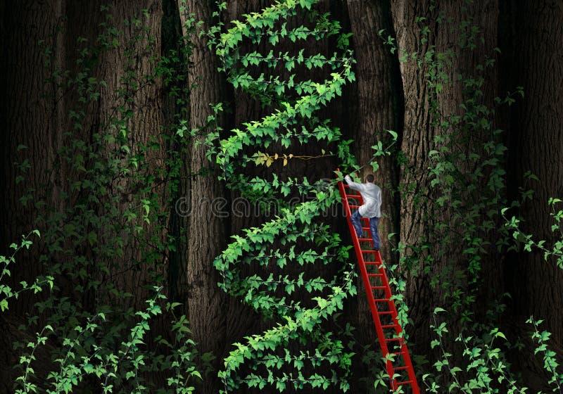 Gene Therapy stock illustratie