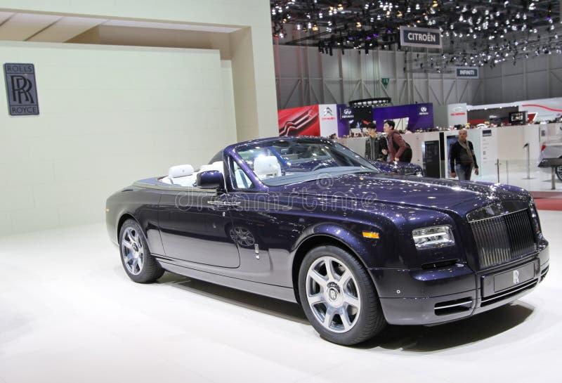 Cupé fantasma de Rolls Royce Drophead fotos de stock