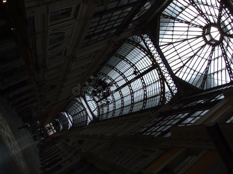 Genebra-Galeria-Liguria-It?lia - terras comuns criativas pelo gnuckx imagem de stock