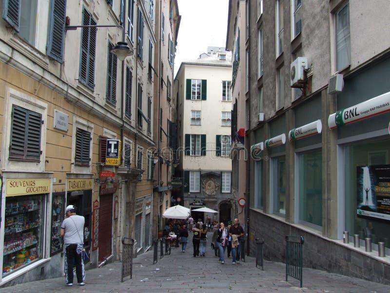 Genebra-Liguria-It?lia - terras comuns criativas pelo gnuckx imagem de stock