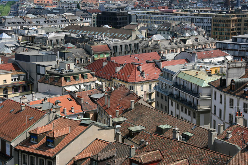 Genebra, Switzerland foto de stock royalty free